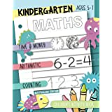 Kindergarten Maths - Australian Edition: Time & Money, Arithmetic, Counting: Children's Activity Book, Ages 5-7
