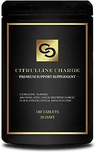 CITRULLINE CHARGE シトルリン 30,000mg アルギニン 亜鉛 マカ サプリメント