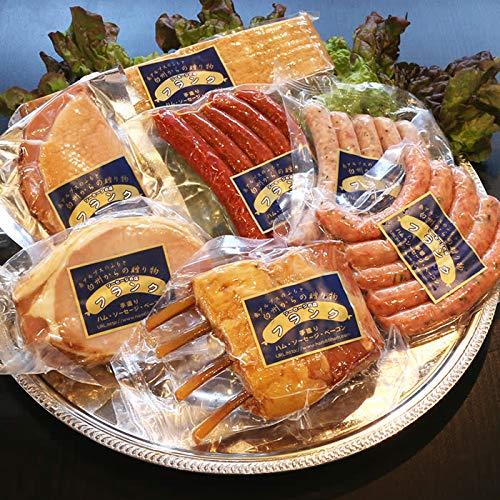 盛りだくさんの宴セット 3種ソーセージ オールドベーコン カスラハム ラムチャップ 合鴨燻製 お中元 お歳暮 贈り物に最適