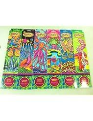 Gonesh Buzz Complete Incenseサンプラー20 Sticks x 6パック(120 )