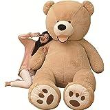 AMIRA TOYS ぬいぐるみ 特大 くま テディベア 可愛い熊 動物 大きい くまぬいぐるみ クマ 抱き枕 お祝い ふわふわぬいぐるみ 熊縫い包み クマ 抱き枕 お祝い ふわふわ お人形 女の子 男の子 子供 女性 抱き枕 プレゼント インテリア