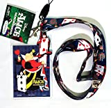 Alice in Wonderland(ふしぎの国のアリス)Queen of Hearts(ハートの女王)Lanyard with Screen Cleaner Dangle(名札 首ひも) [並行輸入品]