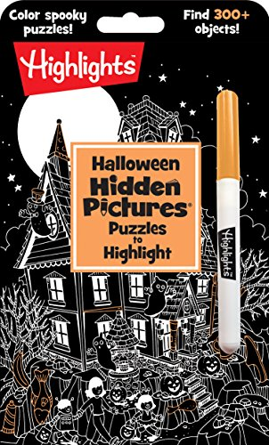 Halloween Hidden Pictures Puzzles to Highlight (Hi...