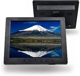 Toguard 8インチ1024*768 TFT LCDカラー モニタースクリーンビデ オ BNC HDMI AV VGA入力 PCセキュリティカム DVR