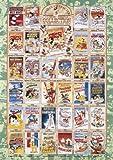 1000ピース ジグソーパズル 世界最小 ディズニー クラシックポスターコレクション (29.x42cm)