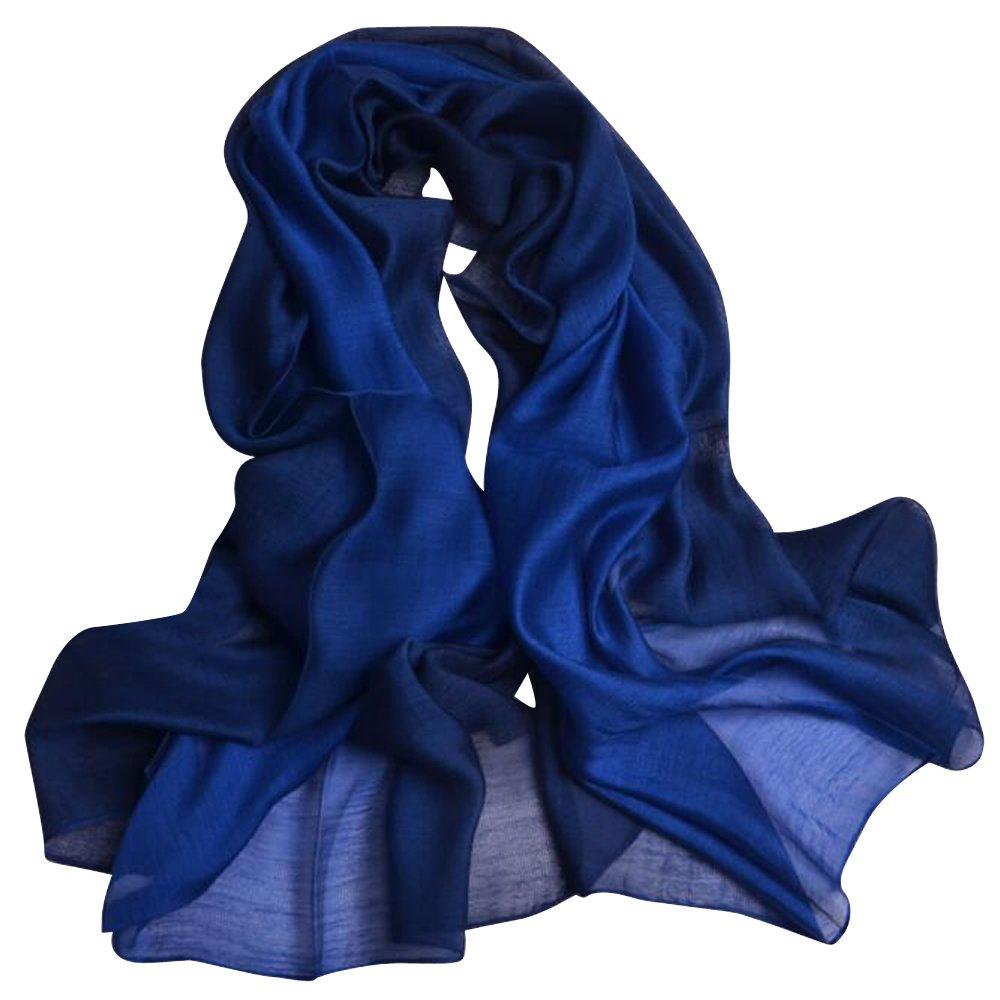 3147c5e5c3415 上質 ストール シルク100% ショール レディース 絹のスカーフ 大判 薄手 マフラー 冷房対策 日焼け