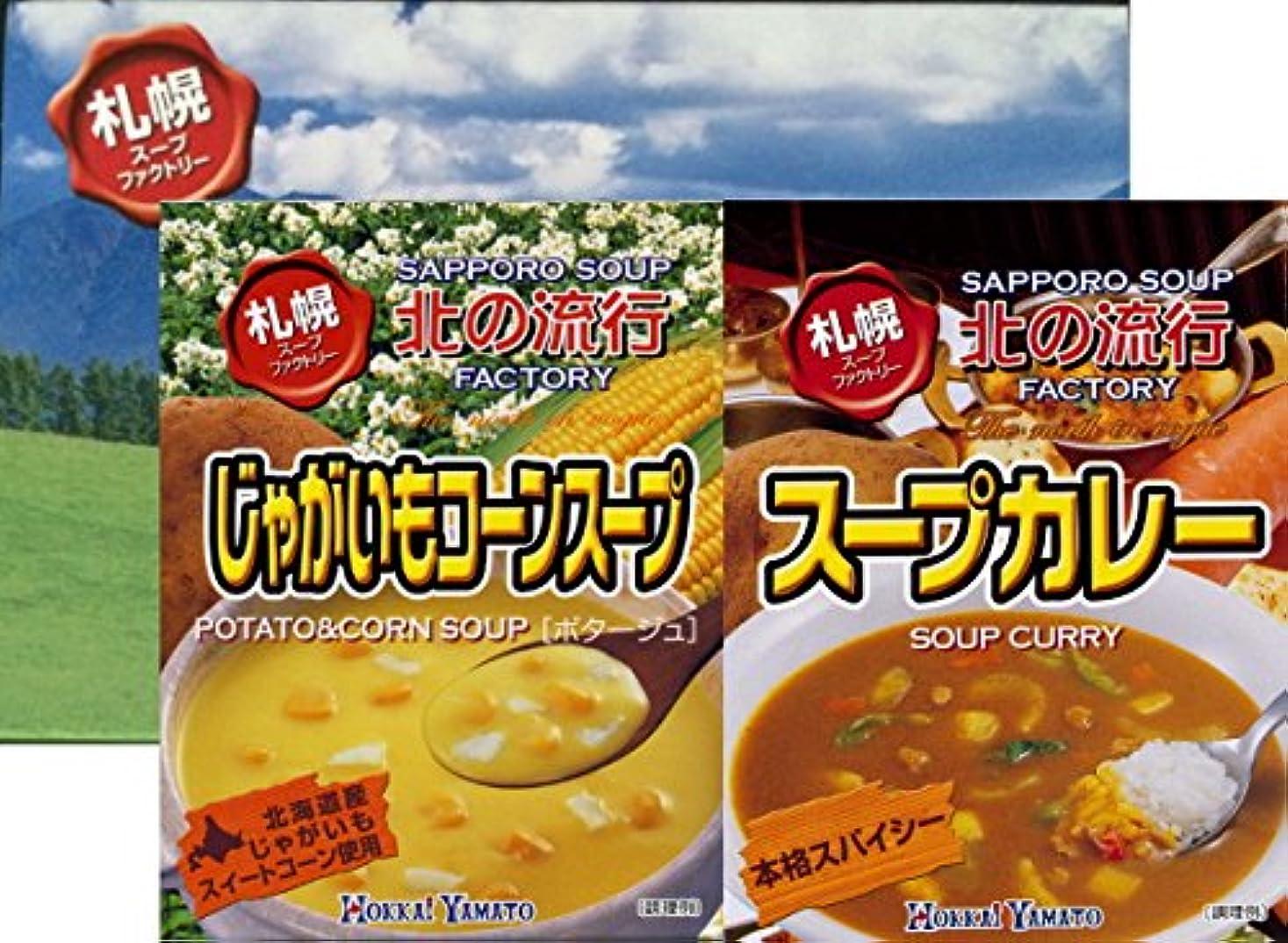 行き当たりばったり社会主義者外交北海大和 札幌スープファクトリーギフトセット×2箱