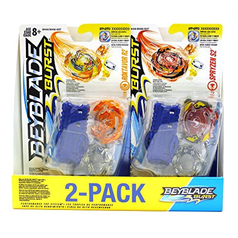 ベイブレードバースト値スターター2 - Pack spryzen s2 and roktavor r2