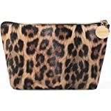 Small Makeup Bag Cosmetic Display Cases Waterproof Cute Pouch Toiletry Travel bag and Brush Organizer