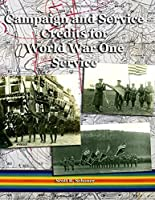 Campaign and Service Credits for World War One Service