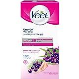 Veet Wax Strips with Easy Grip, Normal Skin, 20ct