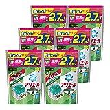 【ケース販売】 アリエール 洗濯洗剤 液体 リビングドライジェルボール 詰め替え 超お得サイズ 940g (48個入り)×6個