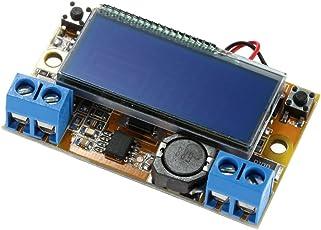 KKmoon DC-DC モジュール ステップダウンモジュール 可変電源降圧チャージ・モジュール DIYキット LEDドライバ 電圧計電流計 3A
