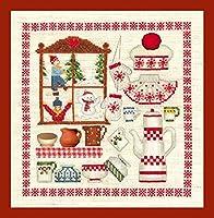 【ル・ボヌール・デ・ダム】 クロスステッチ刺繍キット 2620 Winter Accessories (DMC刺繍糸)
