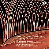 モーツァルト : ピアノ協奏曲 第19番 第23番 (Mozart : Piano Concertos Nos 19 in F major & 23 in A major / Ronald Brautigam , Die Kolner Akademie , Michael Alexander Willens) [SACD Hybrid] [輸入盤]
