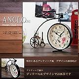 STARDUST アンクロ時計 04 アンティーク風 クロック インテリア 雑貨 おしゃれ クラシック 時計 レトロ 北欧 リビング 部屋 SD-E1218