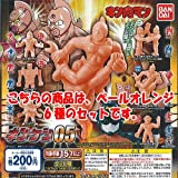 キン肉マン キンケシ 05 ペールオレンジ 全6種セット バンダイ ガチャポン ガチャガチャ ガシャポン