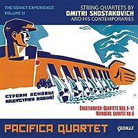 ソ連の経験 第3集(Pacifica Quartet - Soviet Experience Vol. 3)-ショスタコーヴィチ:弦楽四重奏曲 第9番 他