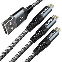 iPhone 充電線 2米 3根一套 高耐久 USB Lightning 電纜 Apple iPhone11 Pro M…