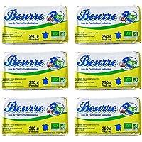 AB認証取得 R-Bio ビオバター【250g】 Beurre R-Bio 250g / 無塩バター/フレッシュオーガニックバター/グラスフェッドバター/フランス産/冷蔵空輸品 (6個)