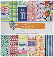 American Crafts Amy Tan Better Together 12 X 12 Inch 48 Sheet Paper Pad by American Crafts