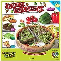 Creativity for Kids Plant a Pizza Garden - Vegetable and Herb Starter Kit for Kids [並行輸入品]