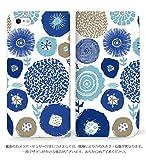 mitas iPhone7 ケース 手帳型 ベルトなし 北欧 1 B (249) NB-0214-B/iPhone7