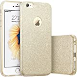 Imikoko iPhone6 6s ケース キラキラケースbling-bling case for Apple iPhone 6s 6 衝撃吸収 (Gold2)