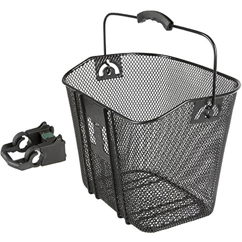 急いで連帯失効M-Wave BA-F Quick Release Wire Basket, Black by M-Wave