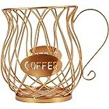 Coffee Pod Holder and Organizer Mug,Cup Keeper Coffee & Espresso Pod Holder, Coffee Mug Universal Coffee Capsule Storage Bask