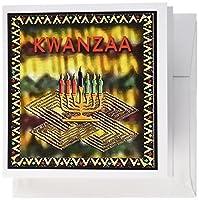 ビバリーターナーのキャンドルKwanzaa–Kwanzaa–グリーティングカード Set of 6 Greeting Cards