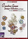 StudioベルニナクリエイティブGenesデニムコレクションの設計Vol 1CD ROM 38Designs