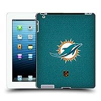 オフィシャル NFL フットボール マイアミ・ドルフィンズ ロゴ iPad 3 / iPad 4 専用ハードバックケース