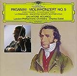 パガニーニ:ヴァイオリン協奏曲第5番、他