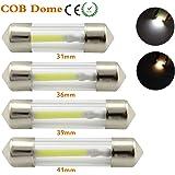 31mm 36mm 39mm 41mm C5W LED COB Festoon Light 12V DE3022 6418 3910 6451 LED Filament Instrument Dome Bulb White Warm White Bl