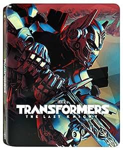 【Amazon.co.jp限定】トランスフォーマー/最後の騎士王 スチール・ブック仕様 3D+ブルーレイ+特典ブルーレイ ※数量限定(キャラクターカードセット付き) [Blu-ray]