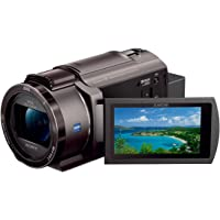 ソニー ビデオカメラ FDR-AX45 4K 64GB 光学20倍 ブロンズブラウン Handycam FDR-AX45…