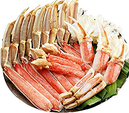 甲羅組 カット 生 ズワイガニ 1kg 特大&極太サイズ かに刺し カニ鍋 カニしゃぶ 焼き蟹 用 約4人前 ギフト