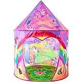 キッズテント 子供用おもちゃハウス 可愛いボールテントハウス Kids Tent Girls tent知育玩具 室内遊具…