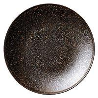 フィノ クリスタルブラウン 19.5cmプレート [ D19.8 x H2.1cm ] 【 中皿 】 | 飲食店 ホテル レストラン 和食 洋食 業務用