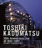 TOSHIKI KADOMATSU 20th Anniversary Live AF-1993~2001 -2001.8.23 東京ビッグサイト西屋外展示場- [Blu-ray]