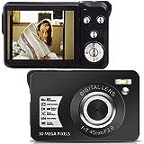 デジカメ デジタルカメラ HD 1080P 2400万画素 8Xズーム 2.4インチLCD コンパクト 連続ショット 携帯便利 Micro SDカード128GB対応
