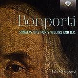 Bonporti: Sonatas Op 2 for 2 V