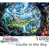InGooooD -ジグソーパズル 1000 天空の城-木製パズル 大人 向け(6歳以上が適しています)