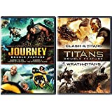 Clash of the Titans / Wrath of the Titans + Journey To The Center of The Earth & The Mysterious Island Amazing Fantasy