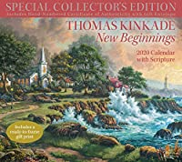Thomas Kinkade Special Collector's Edition with Scripture 2020 Deluxe Wall Calen: New Beginnings