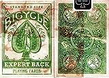 BICYCLE (バイスクル) トランプ Expert Back エキスパートバック (Green 緑)