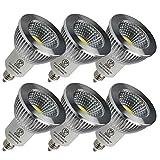 LED スポットライト 5W LED電球 E11口金 非調光対応 LED ビーム角90° PSE認証済 3年保証(6個入り、電球色)