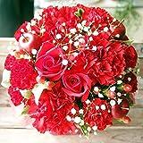 花金・高岡本店 ベストセラー1位獲得商品 (�@AGT 赤 プライムお急ぎ便) ギフト 誕生日 結婚記念日  お祝い 還暦 母の日 花 花束 プレゼント