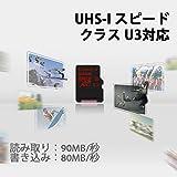 キングストン Kingston microSDXCカード 64GB クラス U3 UHS-I 対応 アダプタ付 SDCA3/64GB 永久保証 画像